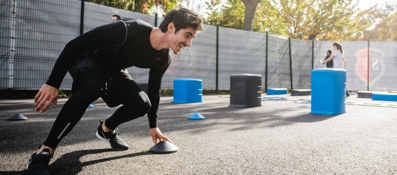 Camisetas de fitness y training